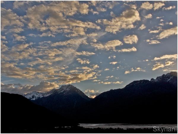 Sky and Mountains II