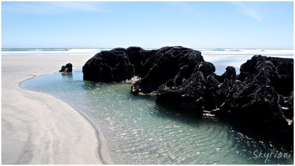 The Beach at Pakawau