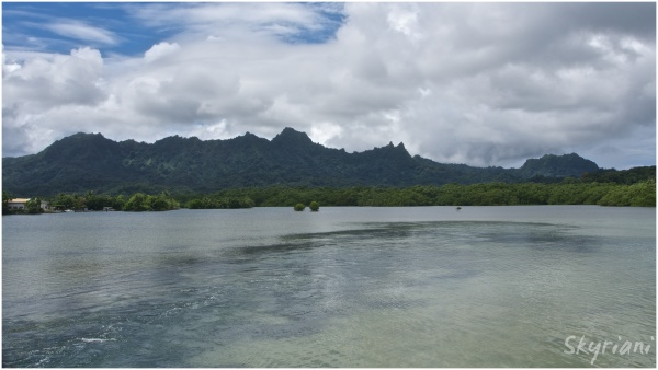 Kosrae's Sleeping Lady