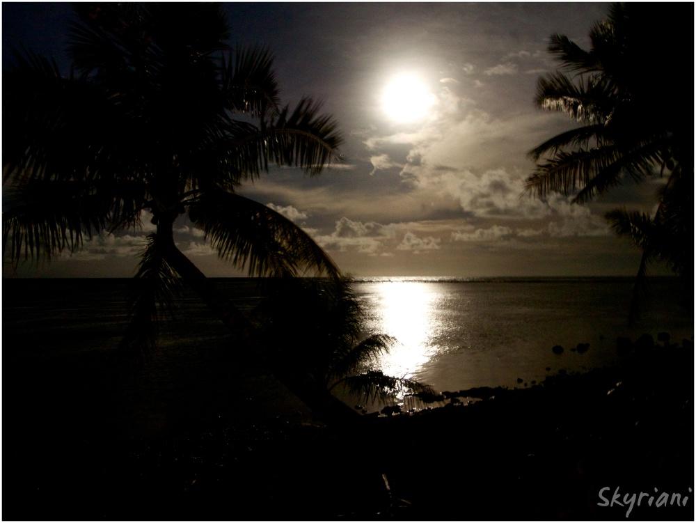 Kosrae Full Moon