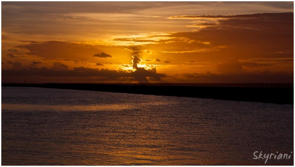 Kosrae Airport Sunset