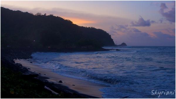 Upolu North Coast at Sunset