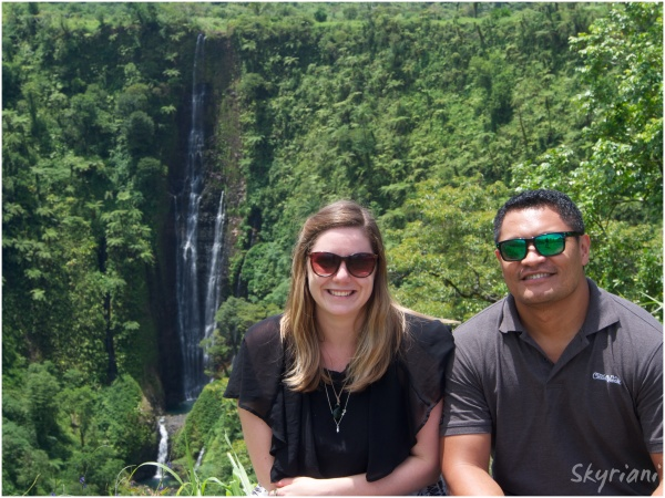 At Papapapaitai Falls