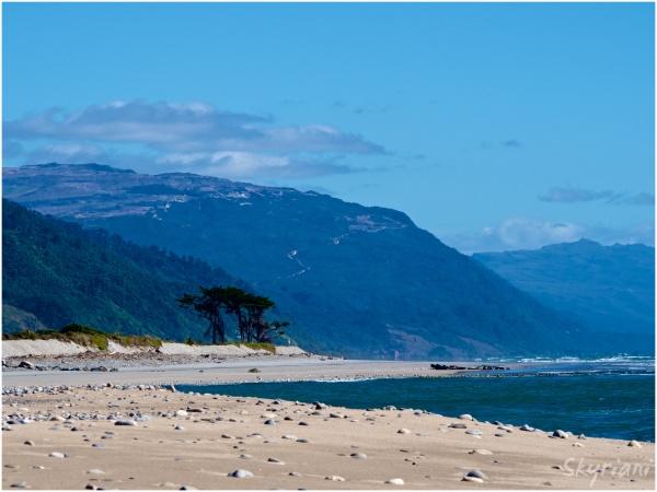 denniston karamea beach coast nz