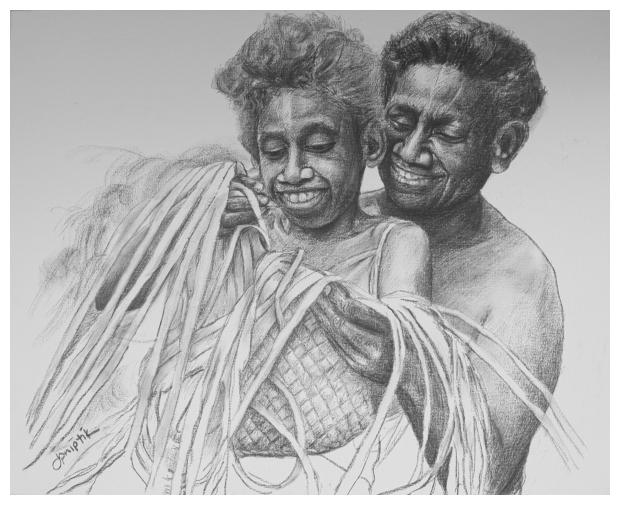 Weaving Pandanus