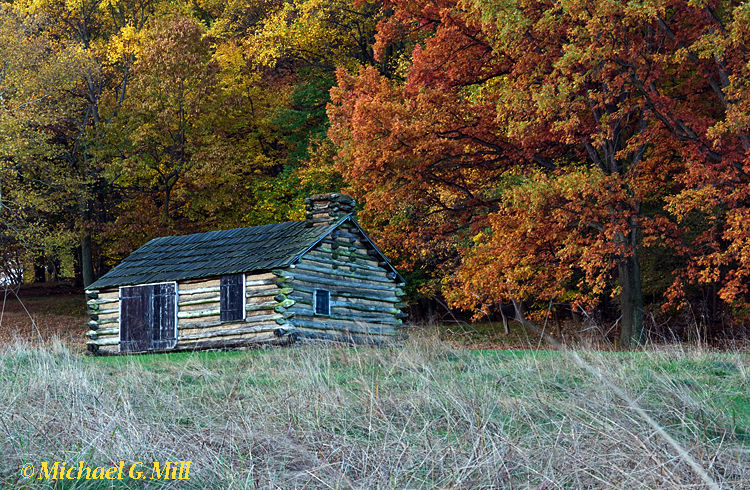 Soldier Cabin, Valley Forge Pennsylvania