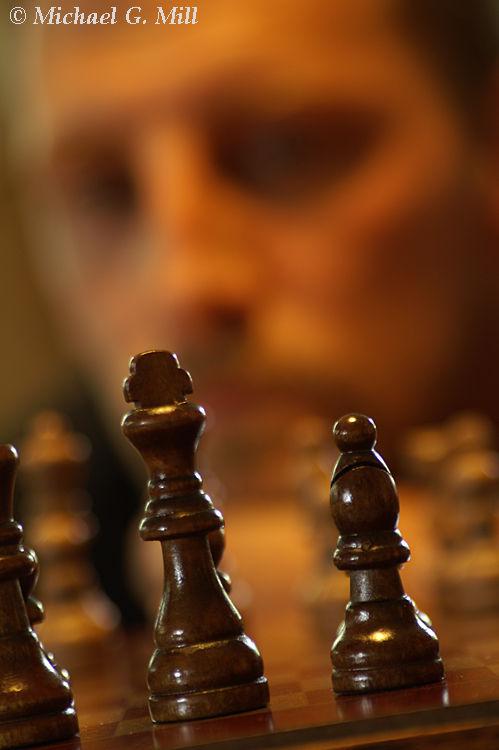 Chess Player / Self Portrait