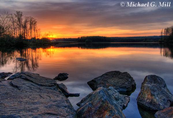 Chambers Lake Sunset 3