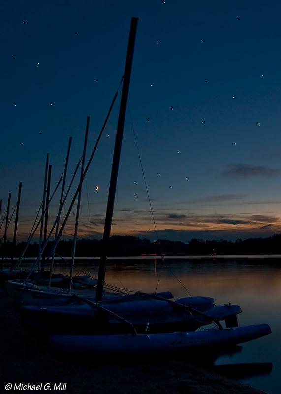 Crescent Moon & Catamarans