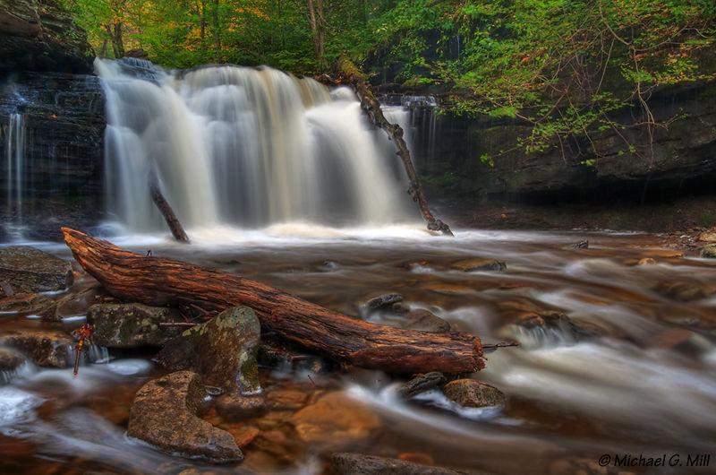 Wyandot Falls 2, Ricketts Glen State Park