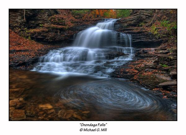 Onondaga Falls, Ricketts Glen State Park