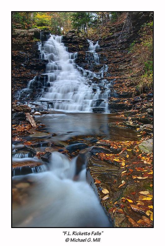 F.L. Ricketts Falls, Ricketts Glen State Park