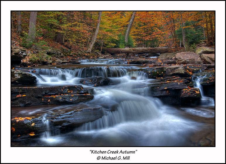 Kitchen Creek Autumn, Ricketts Glen