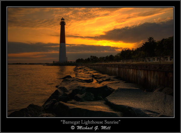 Barnegat Lighthouse Sunrise