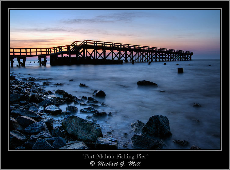 Fishing Pier Sunrise