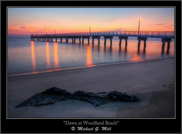 Dawn at Woodland Beach