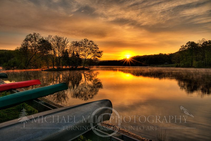 Hopewell Lake Sunrise