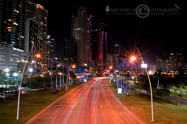Balboa Avenue - Panama City, Panama