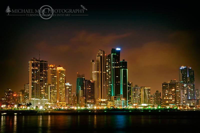 Panama City Skyline Panama