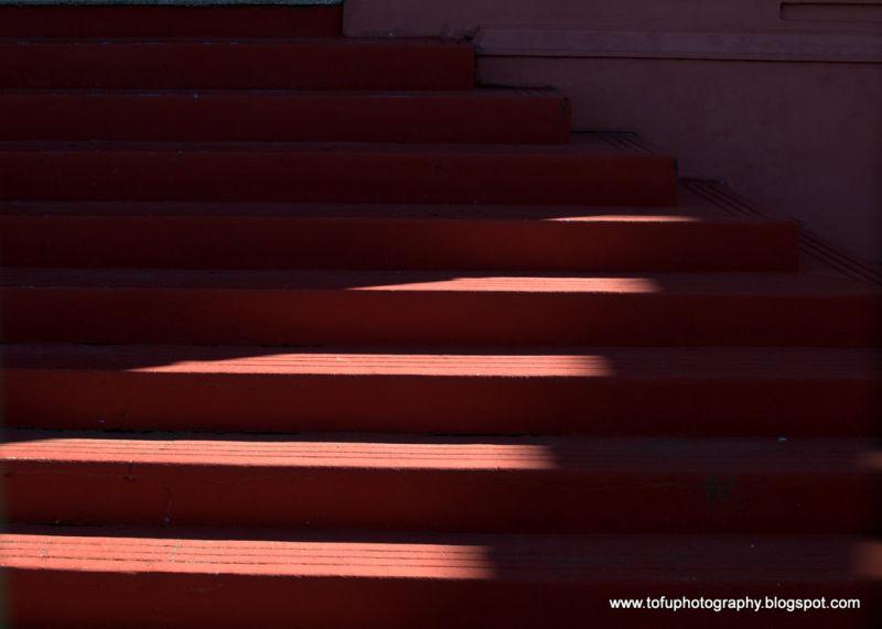 Light on steps