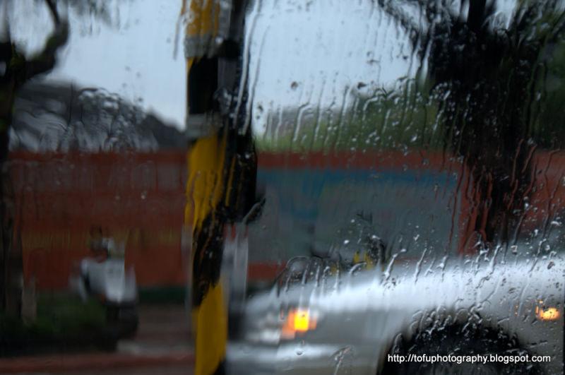 Raining in Taiwan