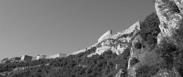 rempart de la citadelle Vauban