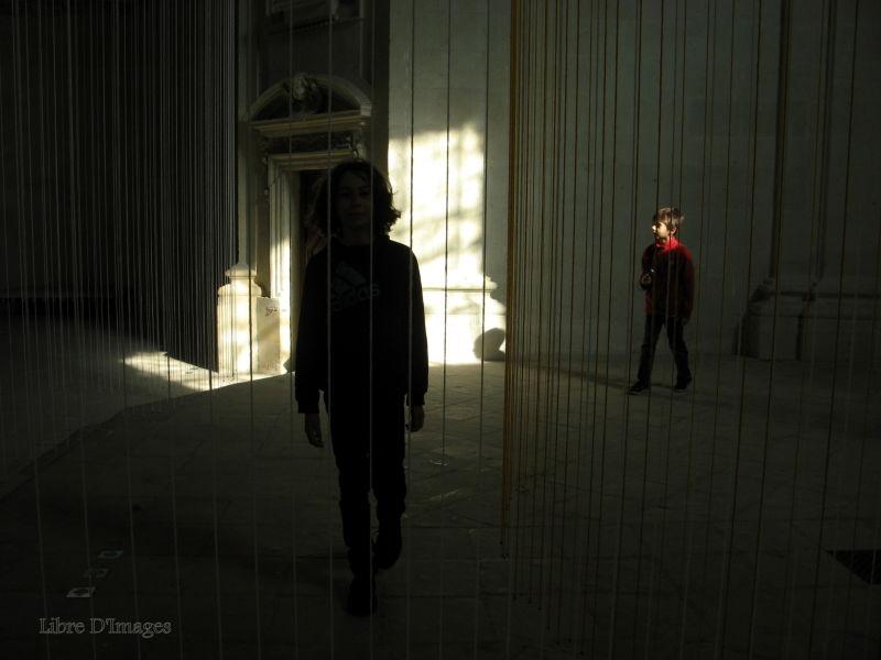 Through the light
