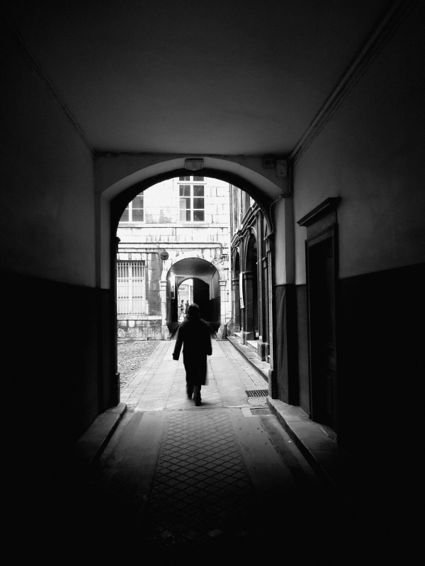 Through the doors