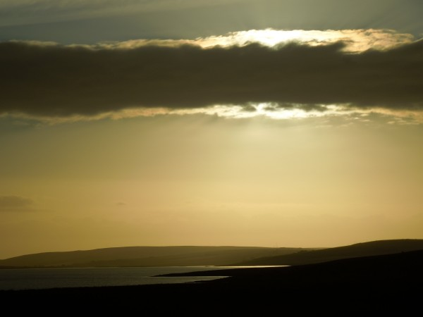 sunset, Orkney