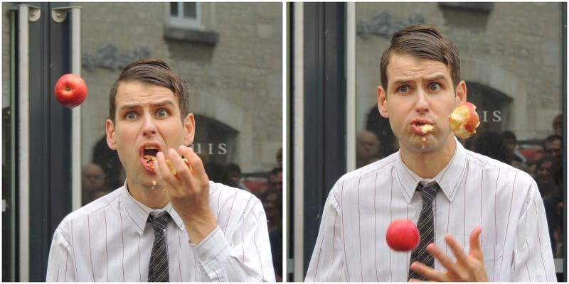 Apples  juggler