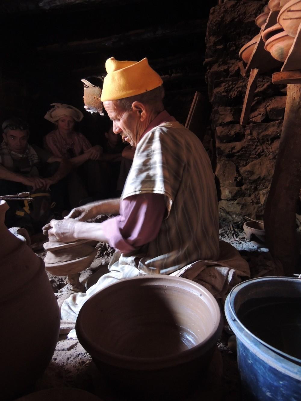Le potier / the potter