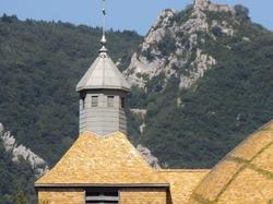 roofs, Salins Les Bains, France