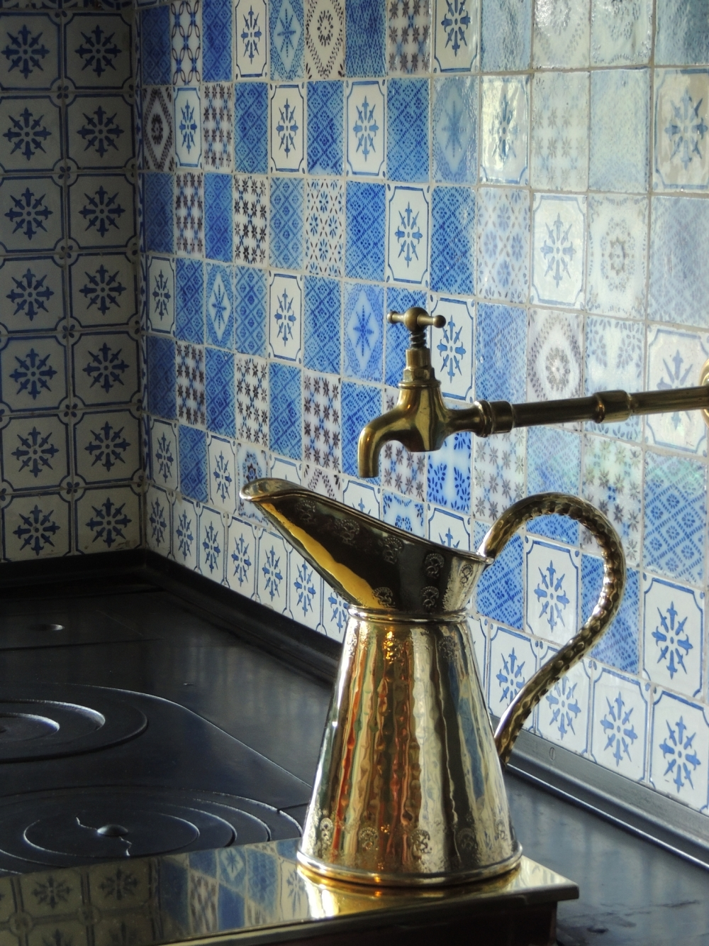 Giverny, cuisine, peintre Monet