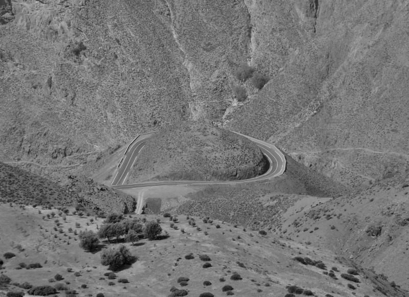 maroc, route, roads, high Atlas