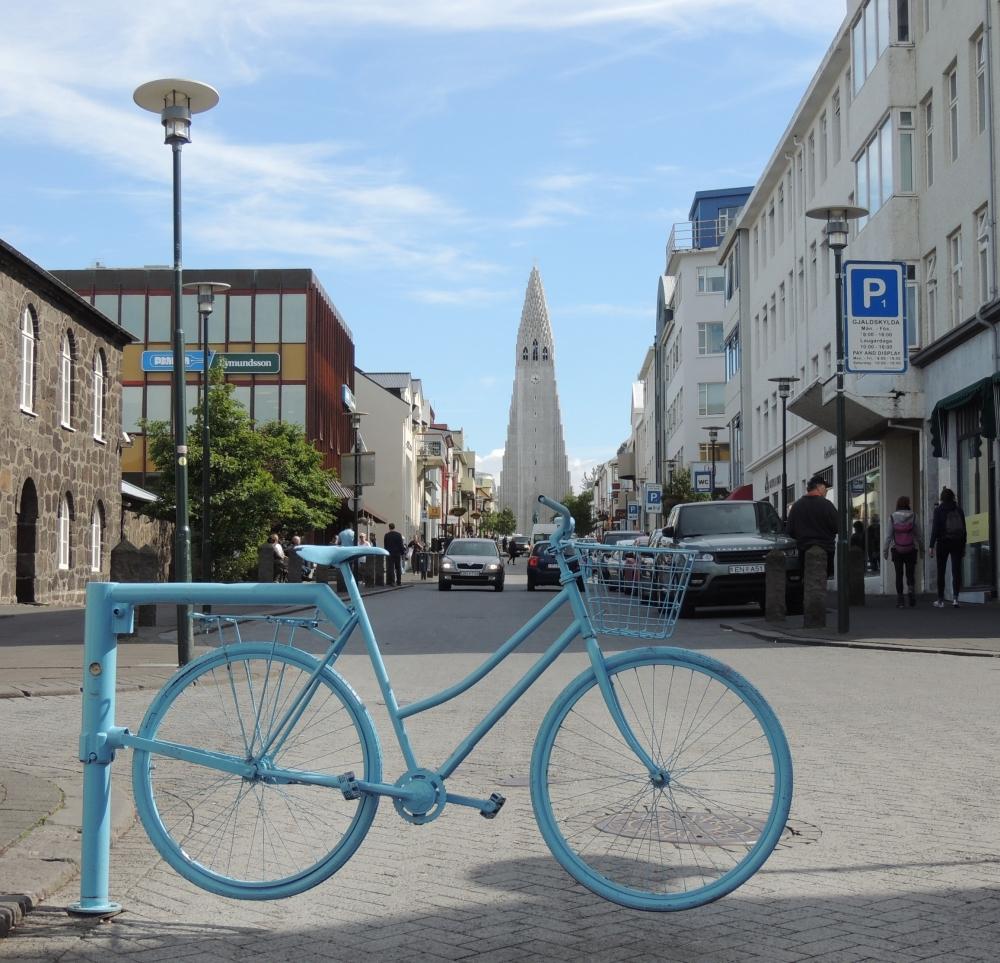 bike, Reykjavik