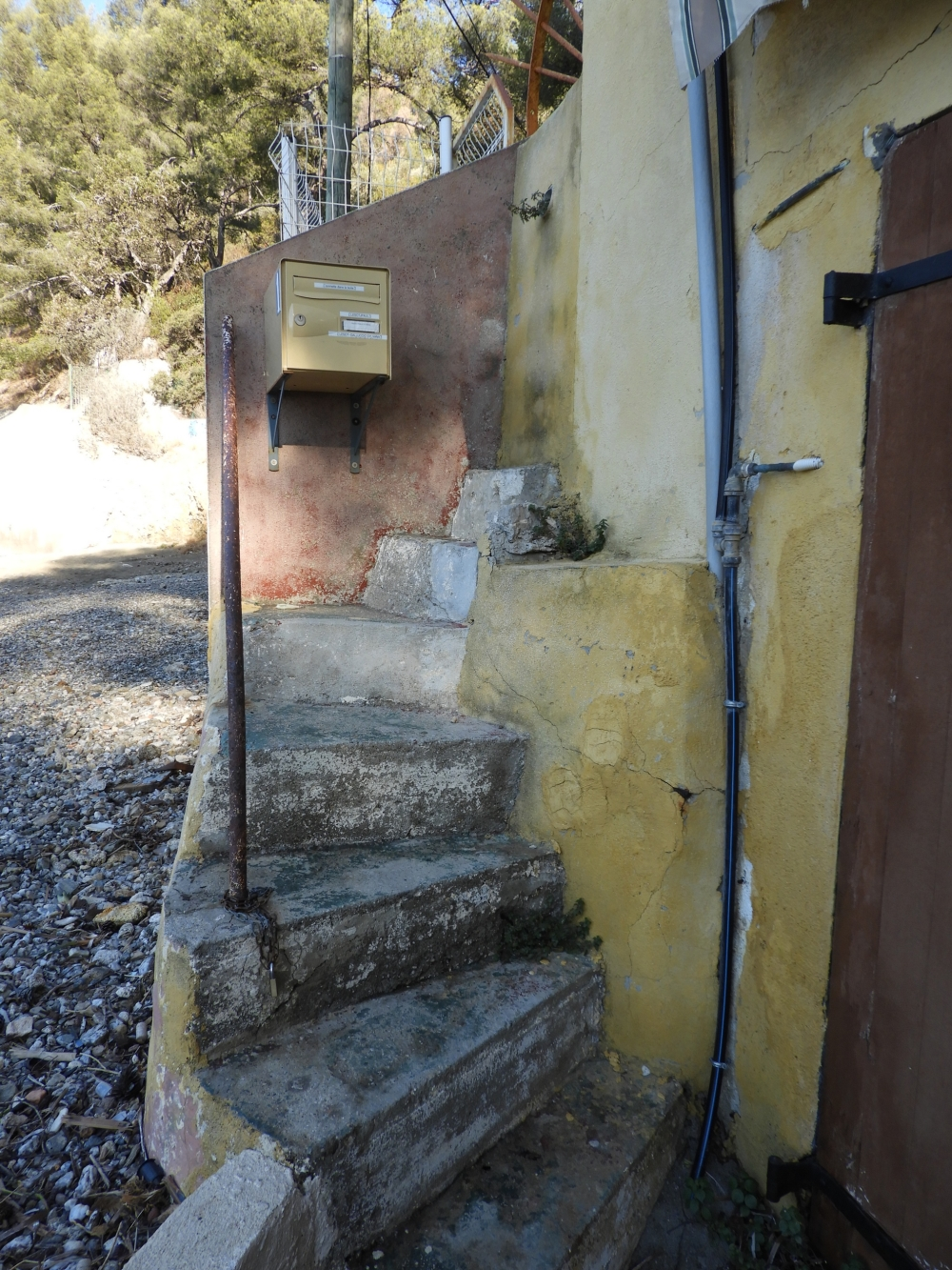 Stairway to... letterbox
