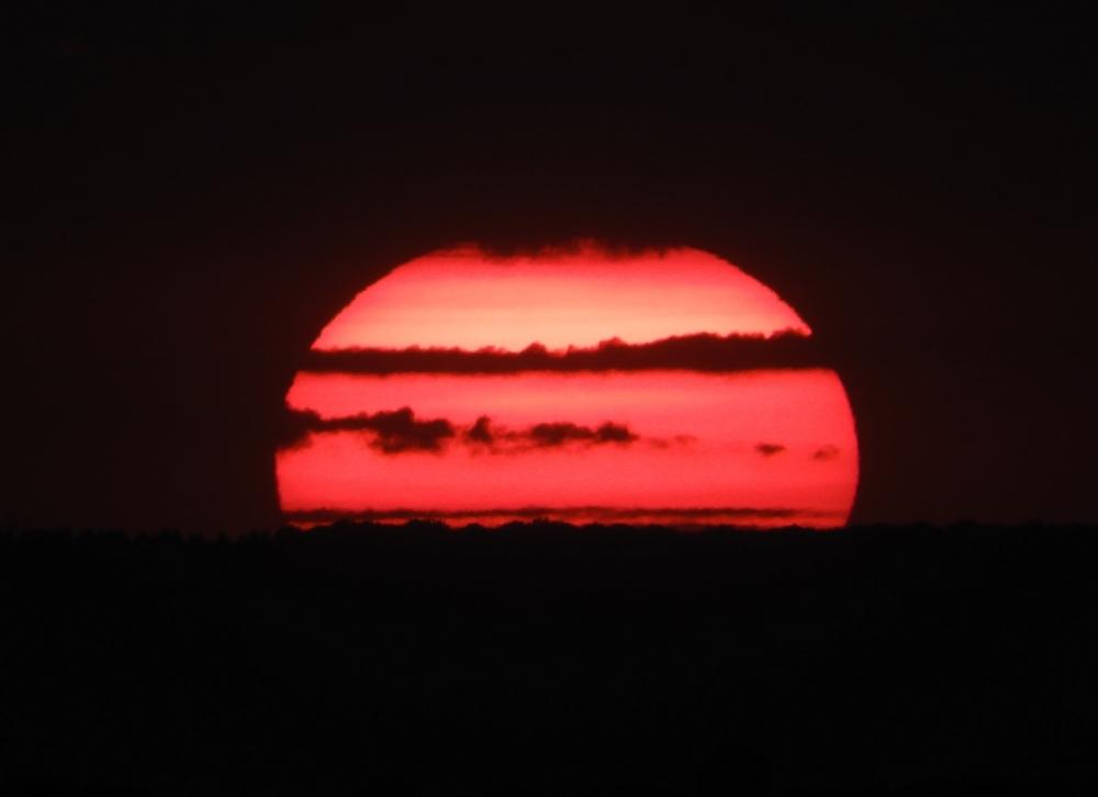 sun , sunset , cloud