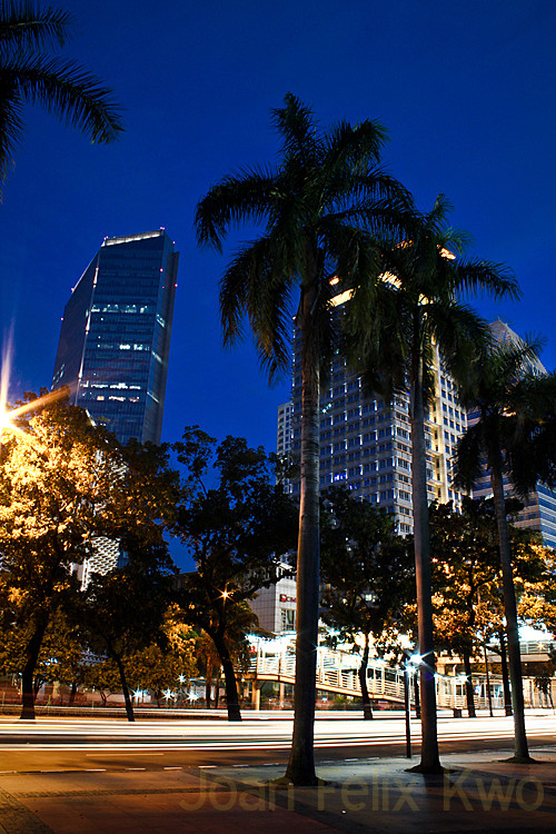 Sudirman at night