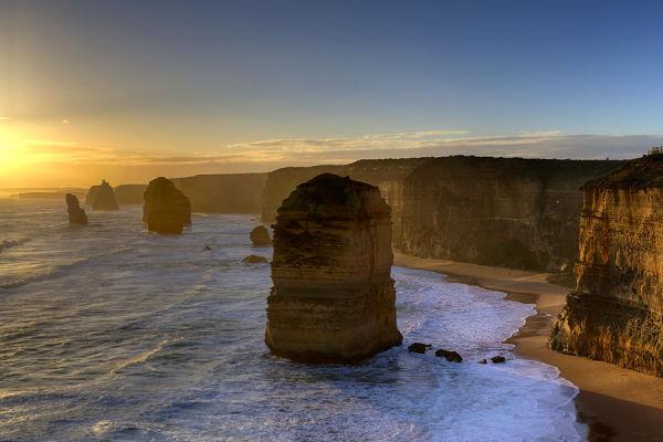 Sunset at 12 Apostles