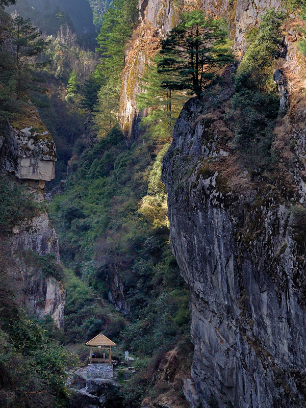 Cangshan Mountains in Dali, China