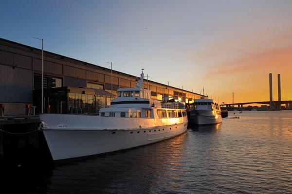 Golden Light at Docklands