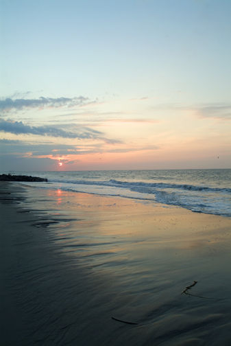 Edisto Beach at Daybreak
