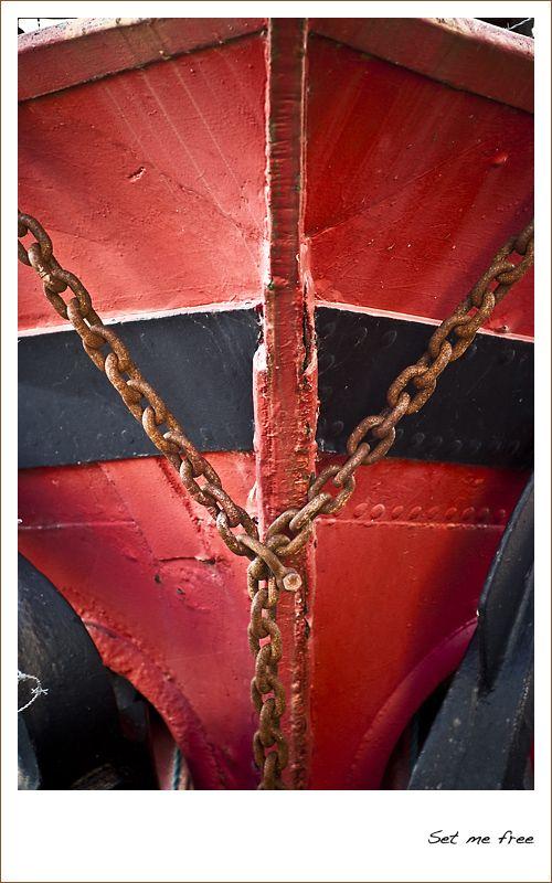 boat, cargo, cargo ship, chain, rust