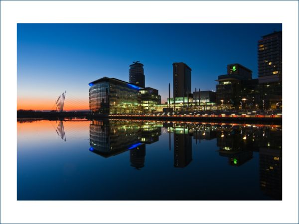 BBC Mediacity Salford Greater Manchester