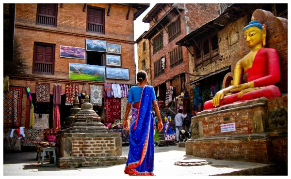 colours of nepal..