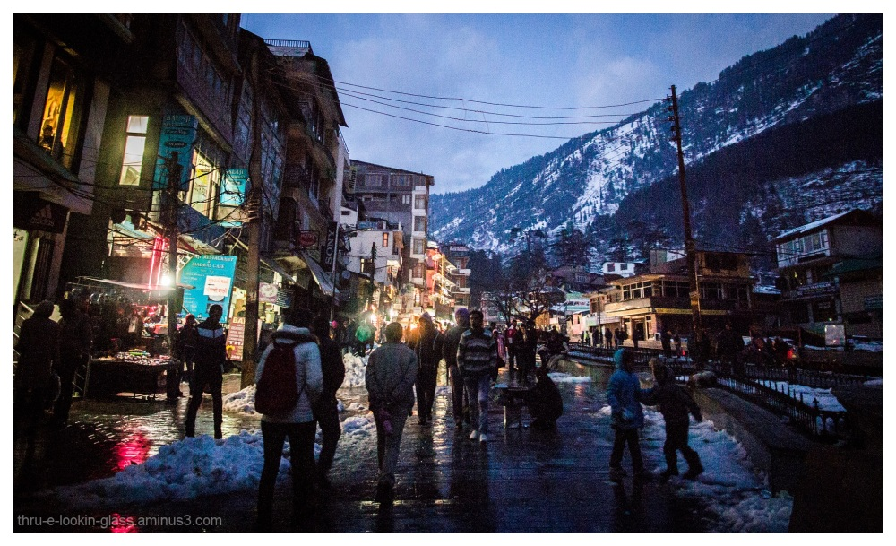Mall Road, Manali