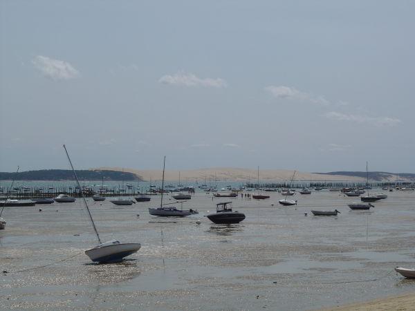 Dune du Pilat, au loin