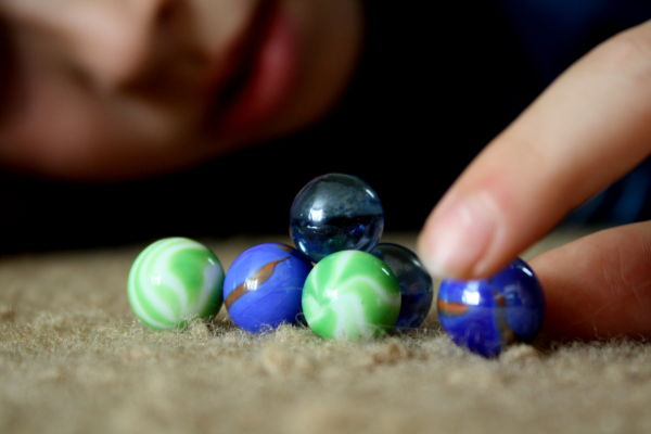 """~These are my """"special"""" marbles mom~"""