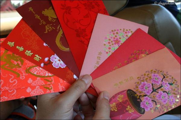 Chinese new year angpows
