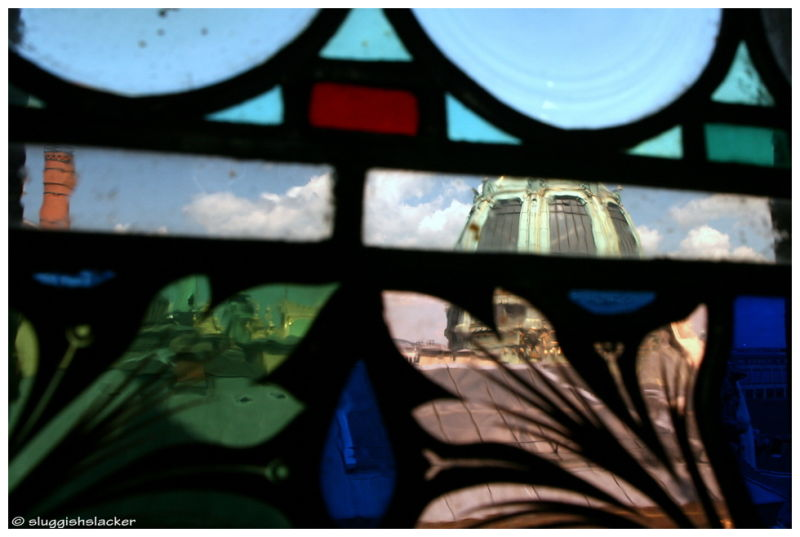 Through rose-tinted glass